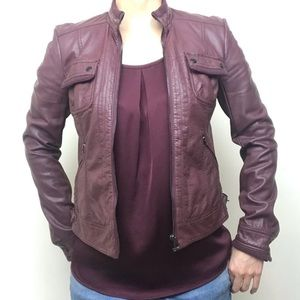 Final Price! Faux leather jacket